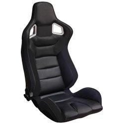 Siège baquet auto noir Autostyle